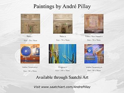 Abstract Paintings Art Flyer