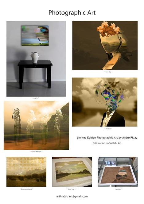Art Prints on Saatchi Art Flyer