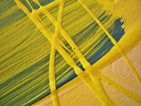 canola sensation painting closer view