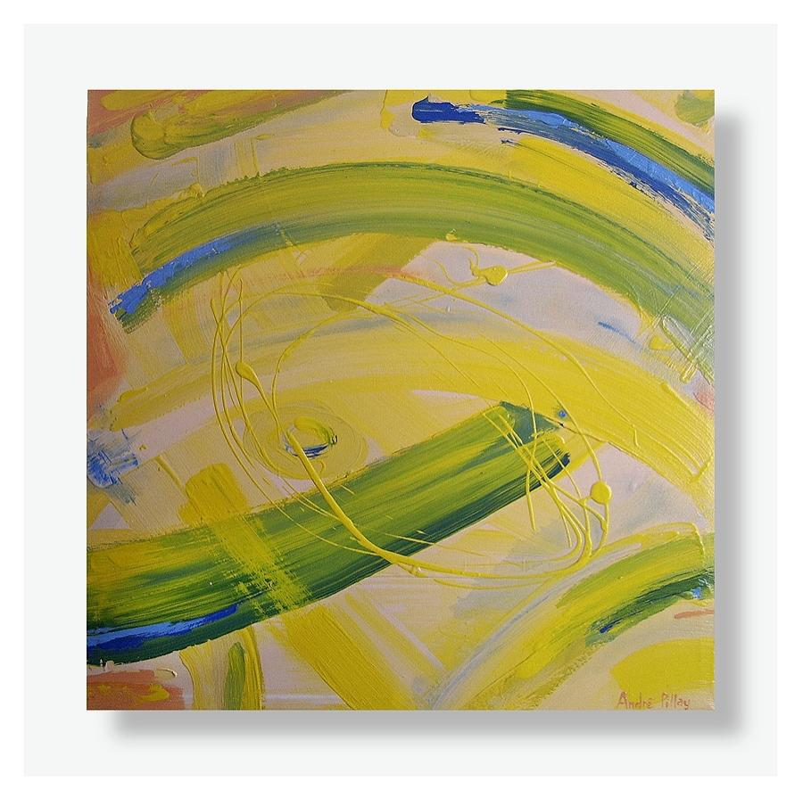 canola sensation abstract painting